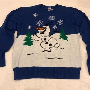 NWT Frozen Olaf Ugly Christmas Sweater - Size L